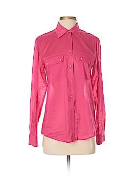 Weekend Max Mara Long Sleeve Button-Down Shirt Size S