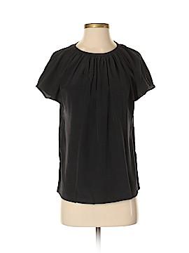 Kate Spade New York Short Sleeve Silk Top Size 0