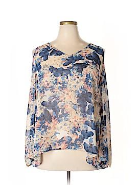 Eclair Long Sleeve Blouse Size 3X (Plus)