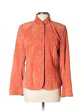 Studio by Liz Claiborne Leather Jacket Size 10
