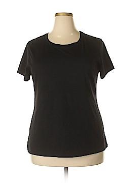 Danskin Now Short Sleeve T-Shirt Size 2X (Plus)