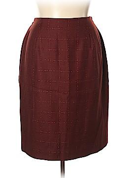 Rena Rowan Wool Skirt Size 14W