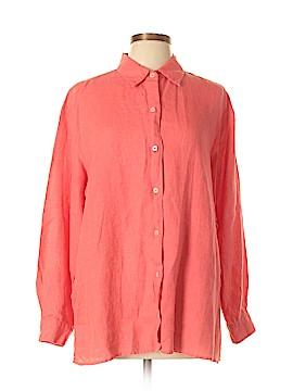 Liz Claiborne Long Sleeve Button-Down Shirt Size L