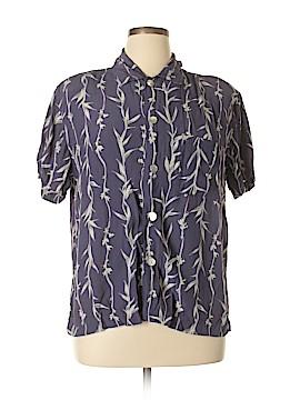 Chico's Design Short Sleeve Blouse Size Lg (2)