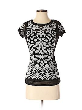 INC International Concepts Short Sleeve Top Size S (Petite)