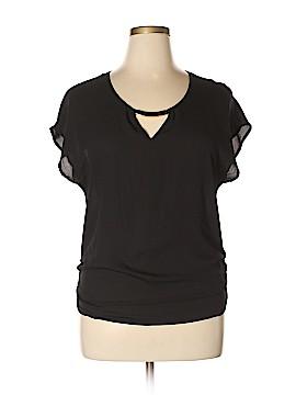 Meraki Short Sleeve Blouse Size 1X (Plus)