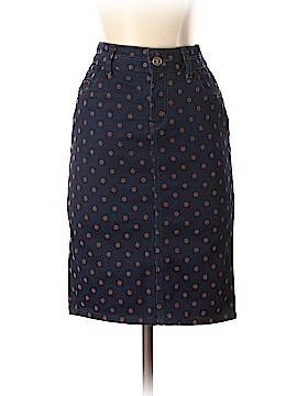 Pilcro and The Letterpress Denim Skirt 26 Waist