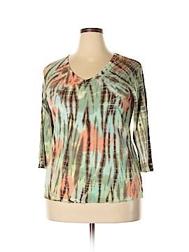 Glima 3/4 Sleeve T-Shirt Size 2X (Plus)