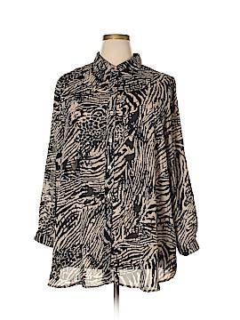 Denim 24/7 Long Sleeve Blouse Size 18 (Plus)