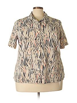 Alia Short Sleeve Blouse Size 20 (Plus)
