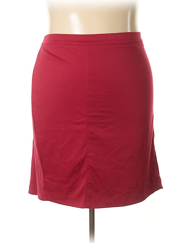 Kiyonna Women Casual Skirt Size 5 (Plus)