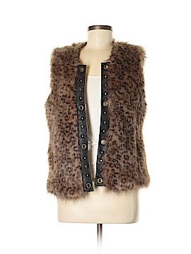Cynthia Rowley for T.J. Maxx Faux Fur Vest Size S