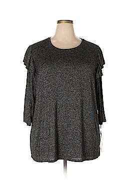 Ava & Viv Long Sleeve Top Size 2X (Plus)