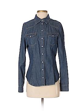 SHiRt Long Sleeve Button-Down Shirt Size 6
