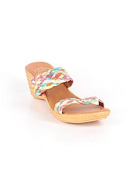 Italian Shoemakers Footwear Sandals Size 10