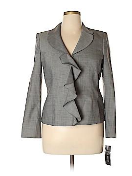 Anne Klein Wool Blazer Size 14 (Petite)