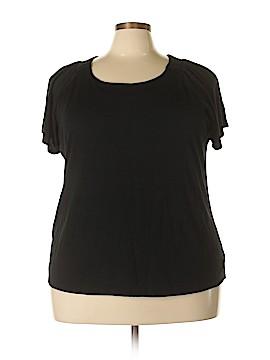 Designers Originals Short Sleeve Top Size 2X (Plus)