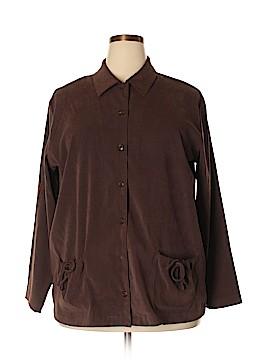 Denim & Co Jacket Size 1X (Plus)