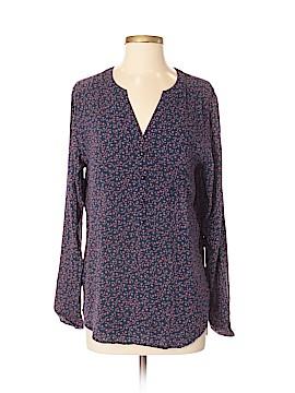 Ann Taylor LOFT Outlet 3/4 Sleeve Button-Down Shirt Size S