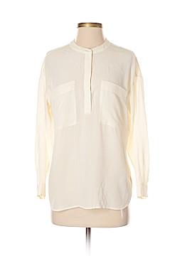 Grana Long Sleeve Silk Top Size XXS