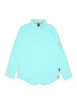 Patagonia Long Sleeve Button-Down Shirt Size M (Kids)