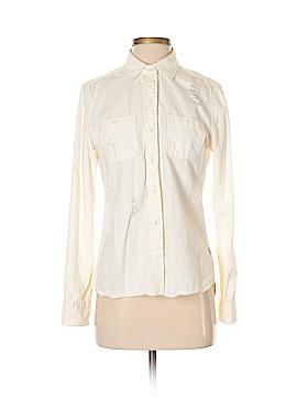 Roxy Long Sleeve Button-Down Shirt Size S