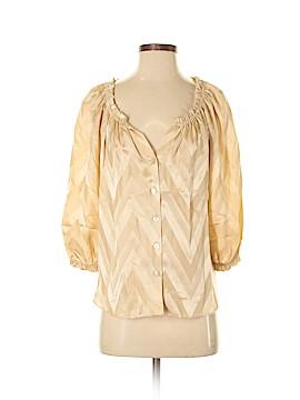 Alice & Trixie 3/4 Sleeve Silk Top Size XS