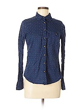H&M L.O.G.G. Long Sleeve Button-Down Shirt Size 8