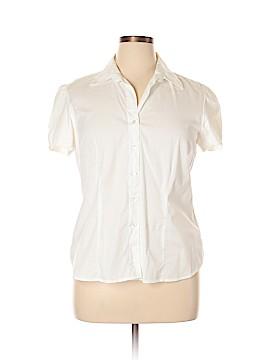 Covington Short Sleeve Button-Down Shirt Size XL