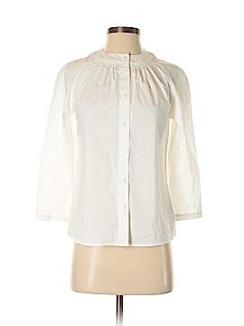 Worthington 3/4 Sleeve Button-Down Shirt Size S (Petite)