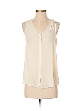 Joe Fresh Sleeveless Silk Top Size XS