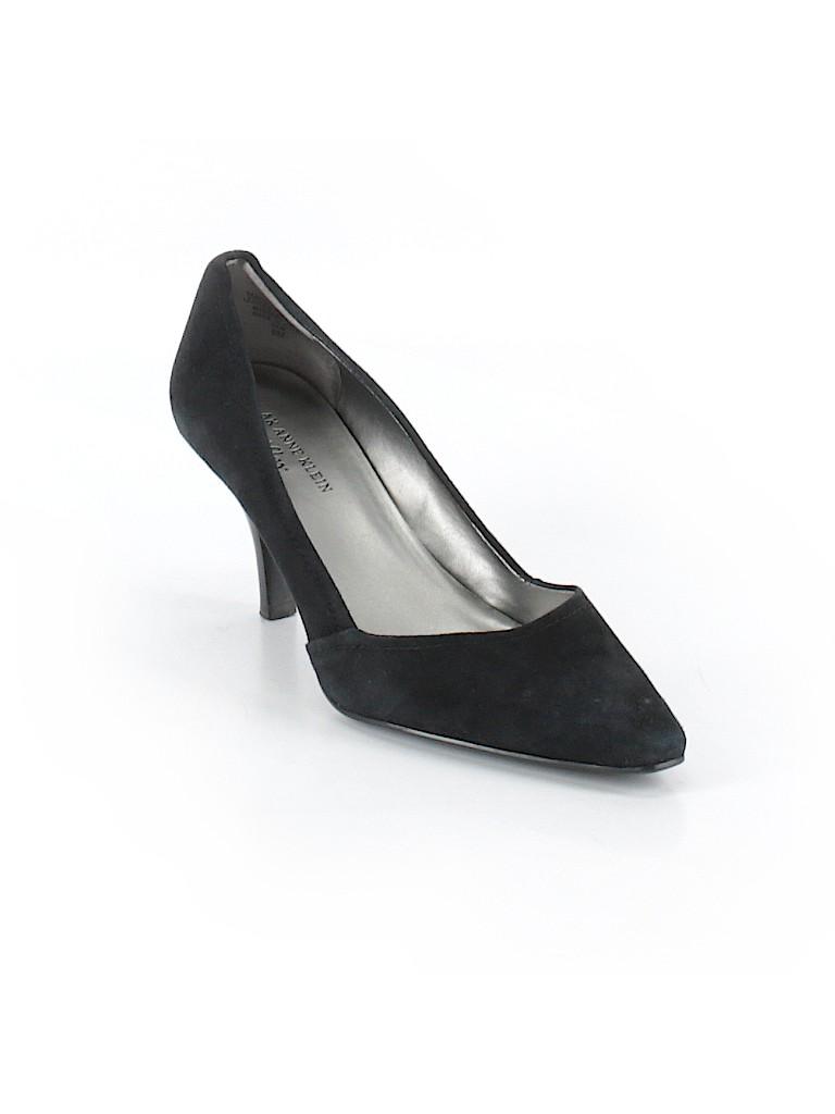 ca035f9e3cf5 AK Anne Klein Solid Black Heels Size 8 - 67% off