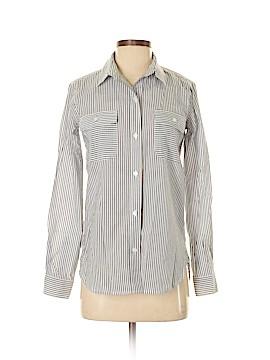 Athleta Long Sleeve Button-Down Shirt Size XXS