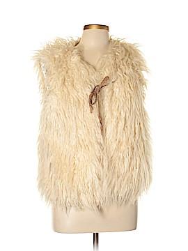 Hei Hei Faux Fur Vest Size L