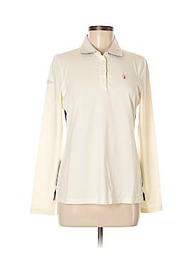 Nautica Long Sleeve Polo Size M