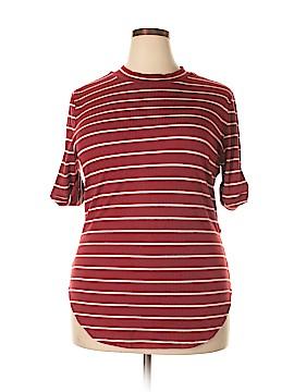 Perch by Blu Pepper Short Sleeve T-Shirt Size 2X (Plus)