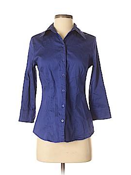 Apt. 9 3/4 Sleeve Button-Down Shirt Size S