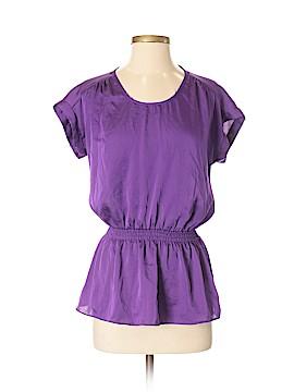Express Short Sleeve Blouse Size S (Petite)