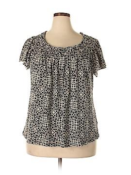 Elle Short Sleeve Top Size 1X (Plus)