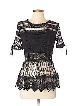 Luxxel Short Sleeve Blouse Size L