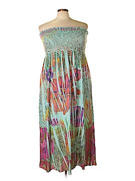 L8ter Casual Dress Size 2X (Plus)