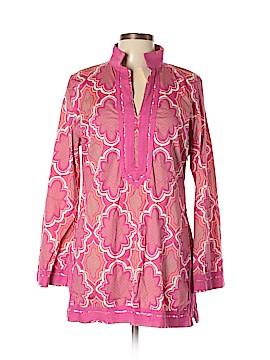 Dana Buchman Long Sleeve Blouse Size L