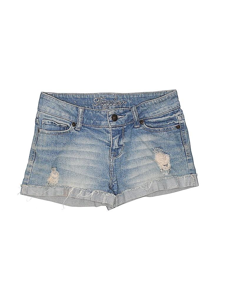 Taylor Women Denim Shorts Size 1 - 2