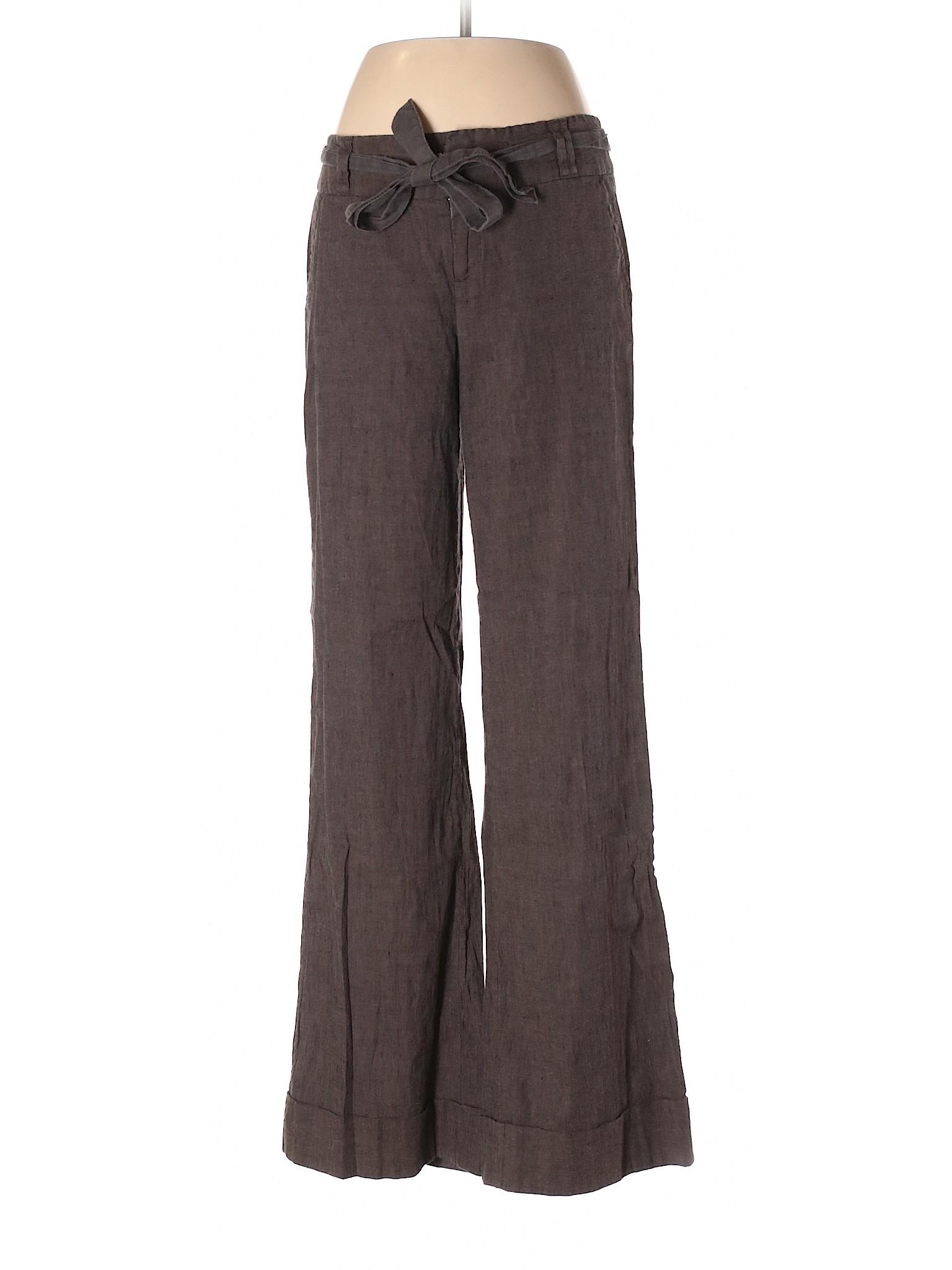 Republic Boutique leisure Linen Pants Banana wp4HqxHvA