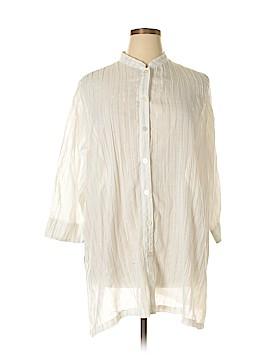 E.L.C.C. 3/4 Sleeve Blouse Size 1X (Plus)