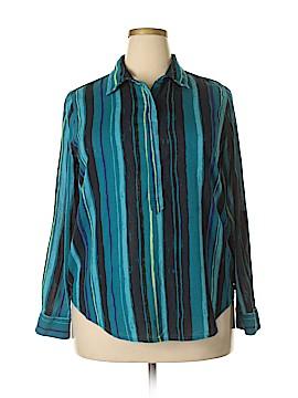 Joe Fresh Long Sleeve Button-Down Shirt Size XL