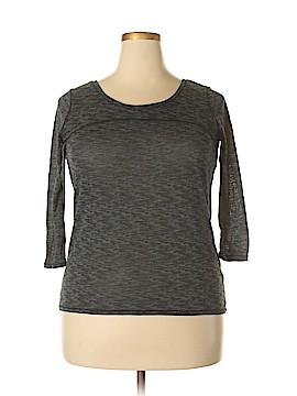 Zella 3/4 Sleeve T-Shirt Size L