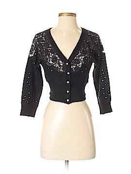 Betsey Johnson Wool Cardigan Size S