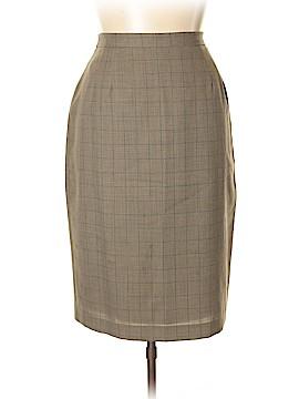 Saks Fifth Avenue Wool Skirt Size 16