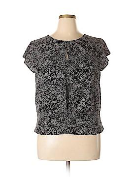 Ann Taylor Factory Short Sleeve Blouse Size 14